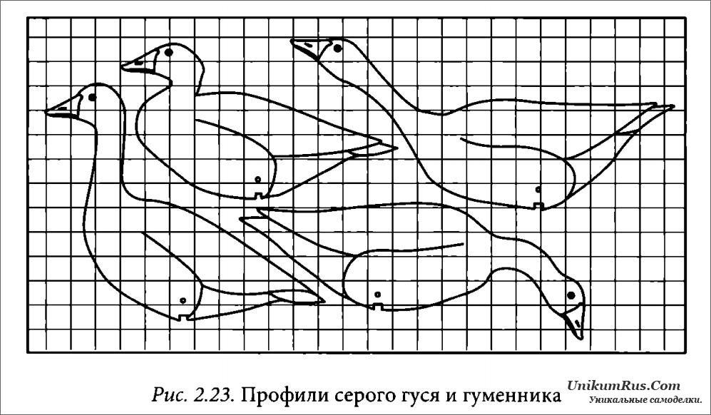 Профиля на гусей как сделать