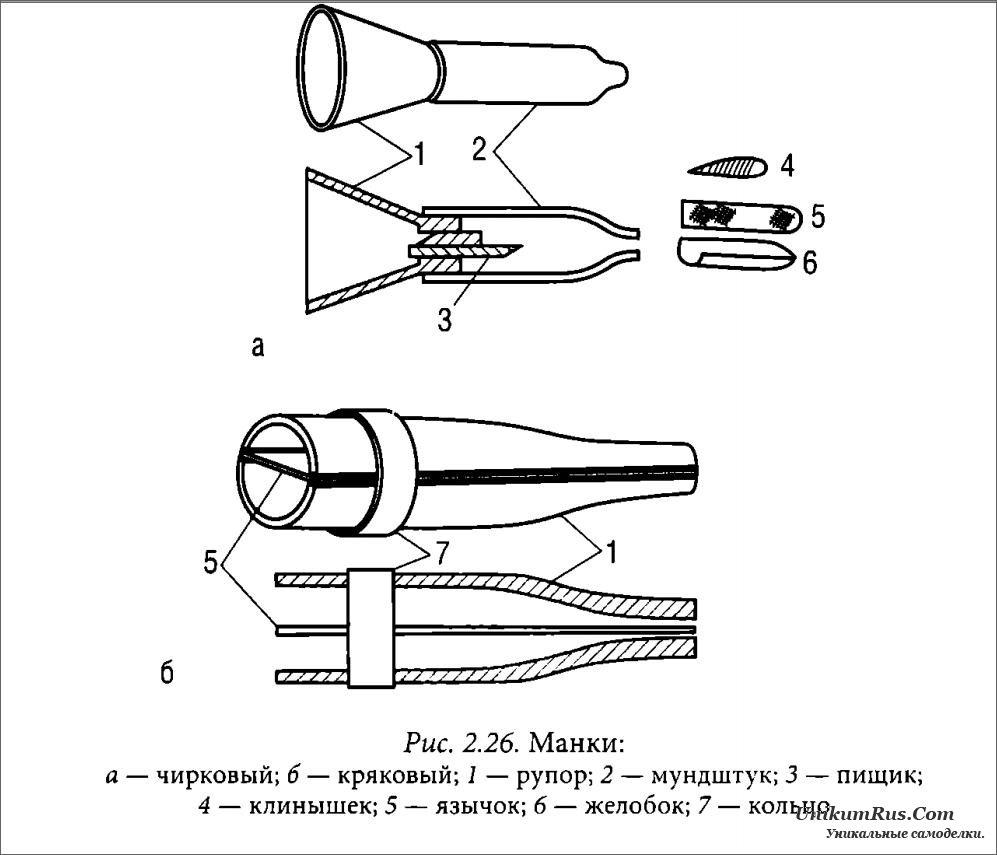 Схема электронный манок на утку