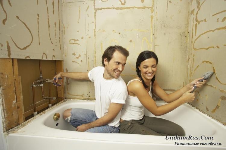 Ремонт в ванной комнате советы