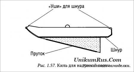 как сделать самодельные кили для надувных лодок