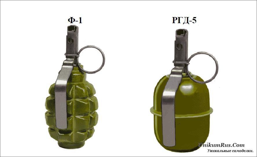 Ручные гранаты