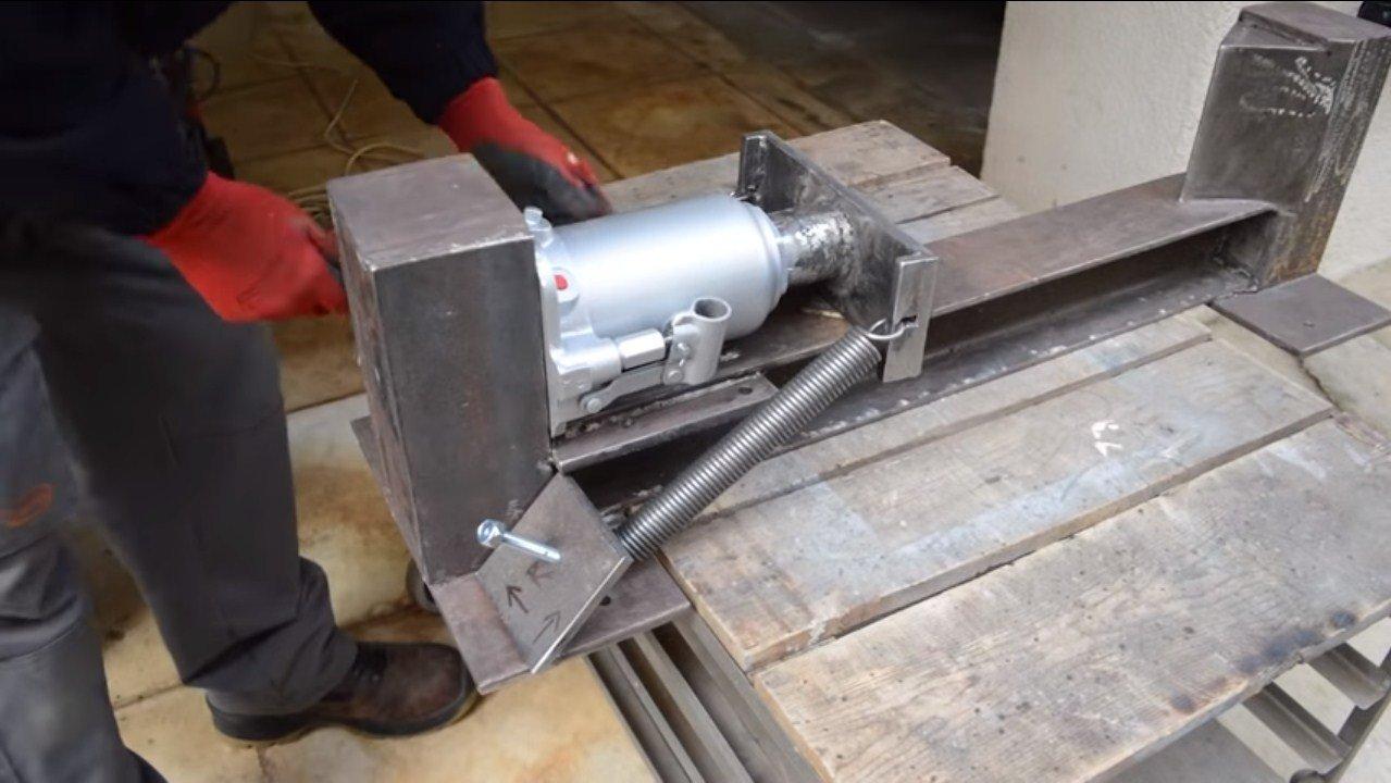 Фото как самому сделать гидравлику из генератора