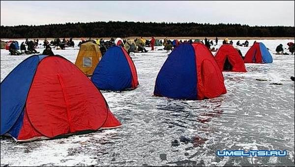 палатка из туристическая