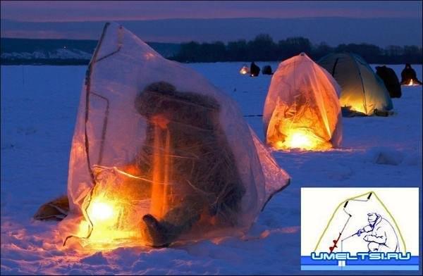 палатка из клеенки
