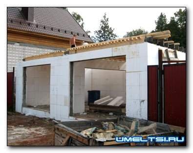 Как построить гараж своими руками на даче
